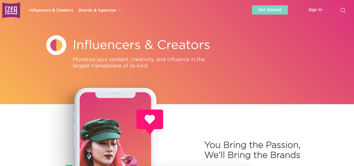 IZEA Influencer Network for Influencers