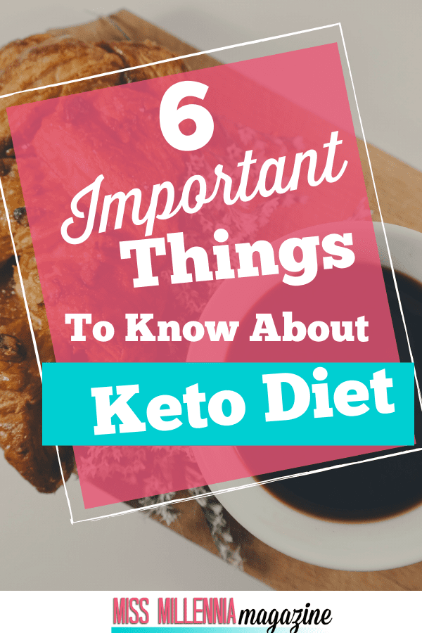 things to know about Keto diet pin