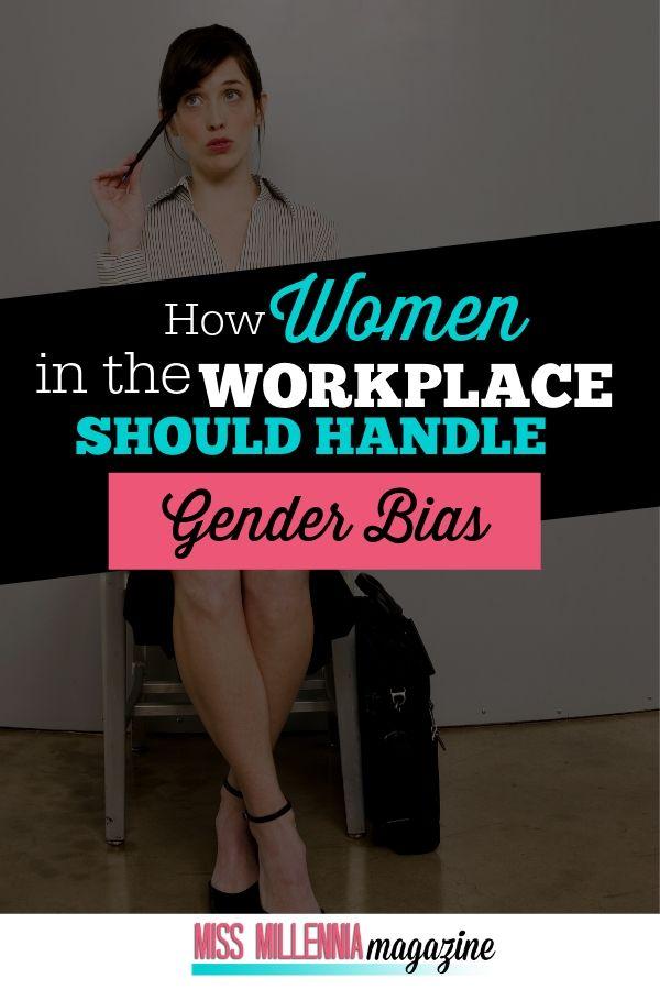 How Woman should Handle Gender Bias?