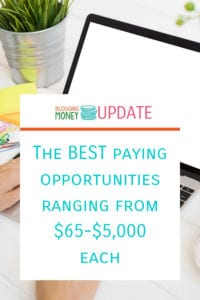 Best Paying Opportunities