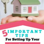 Tip for Setting Up Home