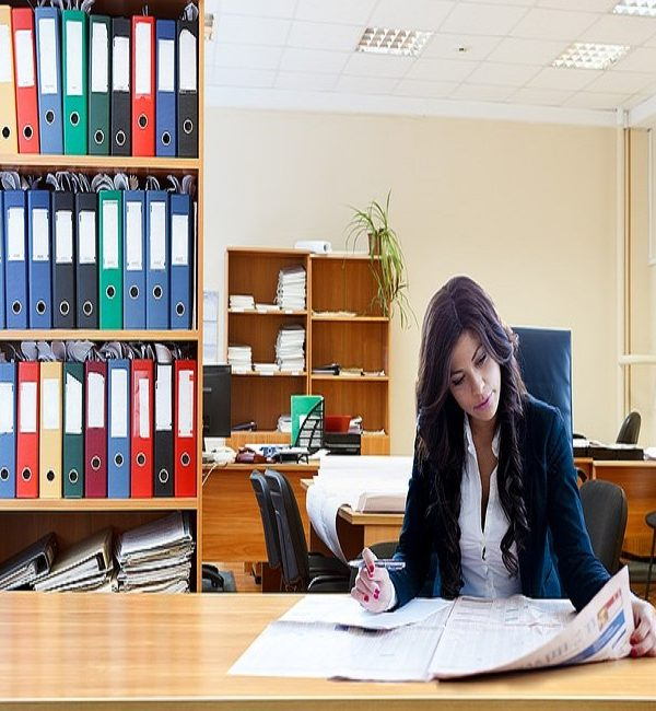 Working Woman in Office