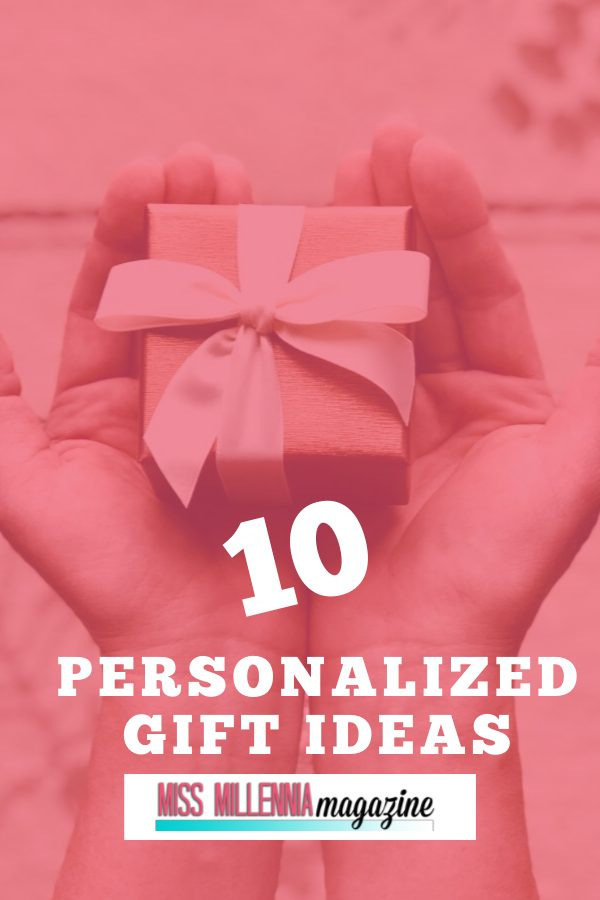 A lot of companies are now offering a personalization option for their products, so here's a selection of gifts that you can personalize, and which go right across the price range.
