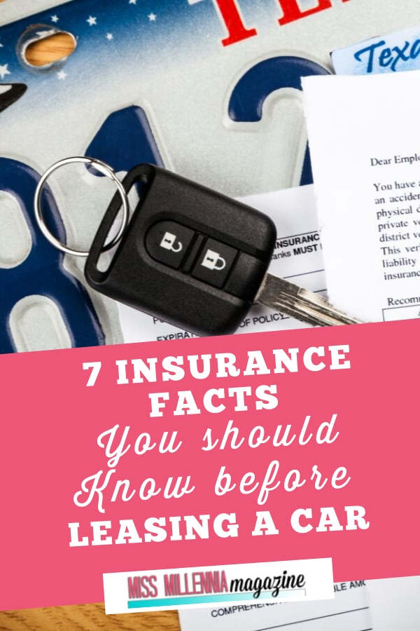 Did you know that car leasing has grown by 91% over the last five years?Here is a look at seven insurance facts you should know before leasing that car;