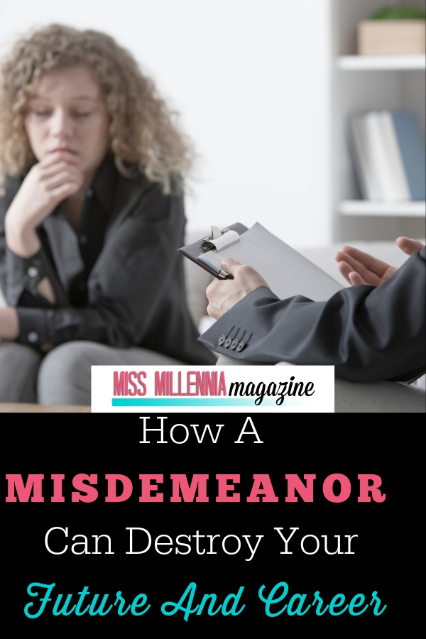 Learn how a Misdemeanor can destroy your future and career and know more what to do.If you are one of the tens of thousands of Americans who have been arrested with minor charges in the past, you are probably wondering whether a misdemeanor conviction for drug possession, a DUI, etc. can impact your viability when pursuing a new job. This Article is for you