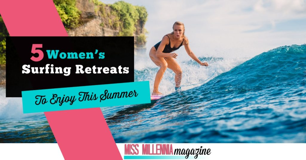 5 Women's Surfing Retreats To Enjoy This Summer fb image