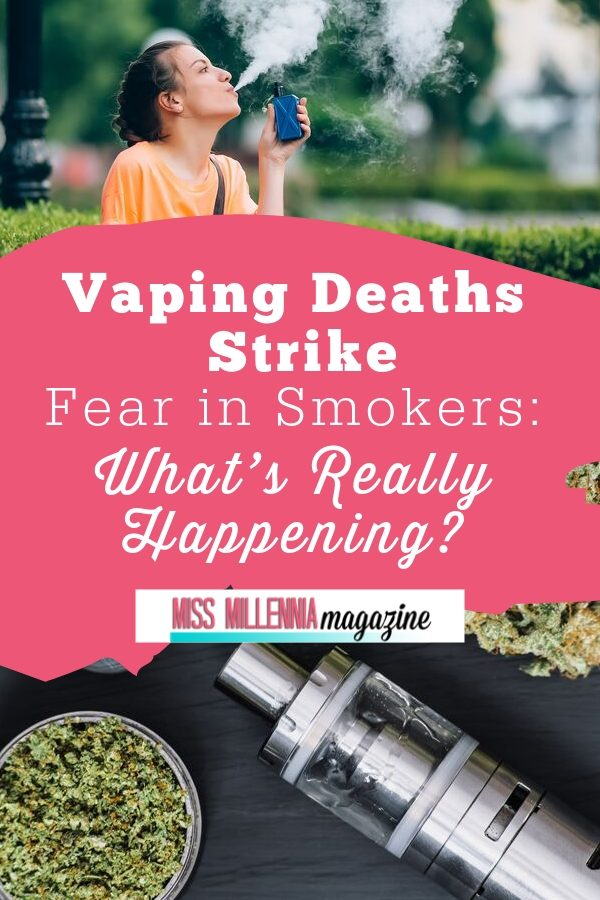 Fear of Death from Vaping