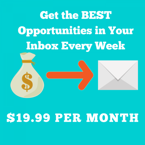 Every Week Opportunities in Inbox