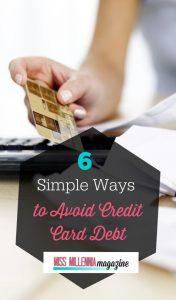 Ways to Avoid Credit Card Debt