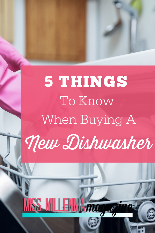 Things to know buying dishwasher