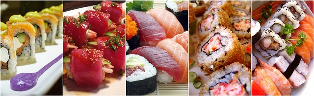 sushi for wedding ideas