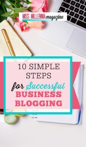 10 Steps for Blogging Business