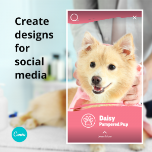 Canva - create designs for social media