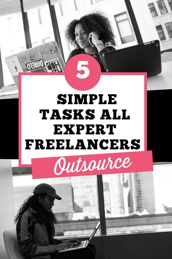 Expert freelancers outsource tasks