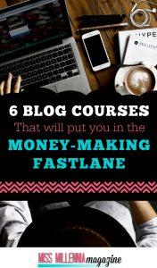 6 Blog Courses