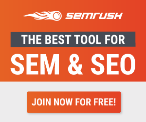 SEMRush - The best tool for SEM & SEO