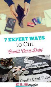 Cut Credit Card Debt