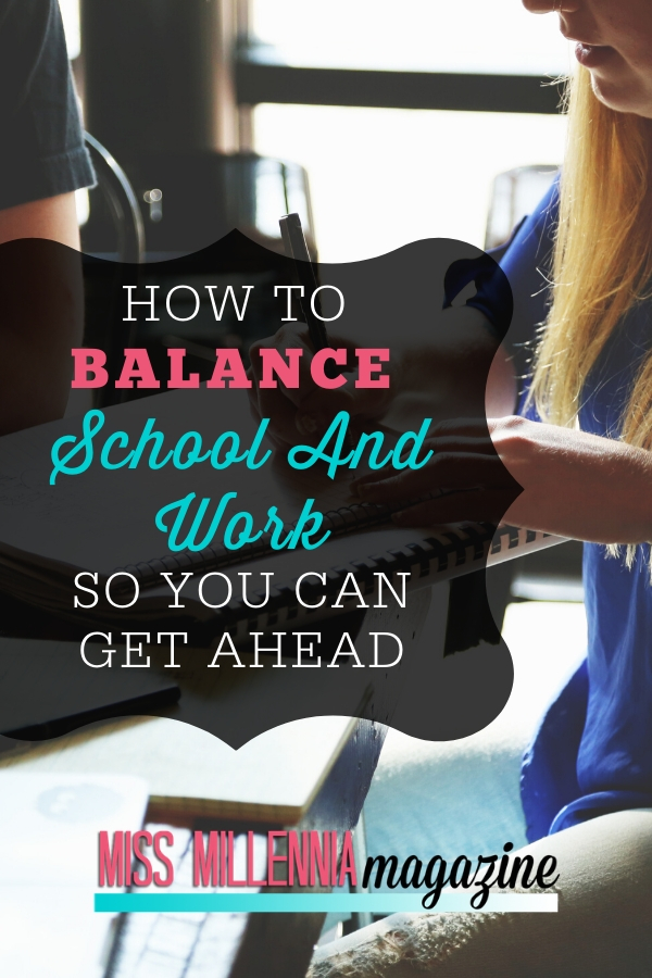how to balance school
