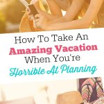 Amazing Vacations Plan
