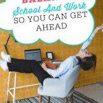 Learn how to balance school