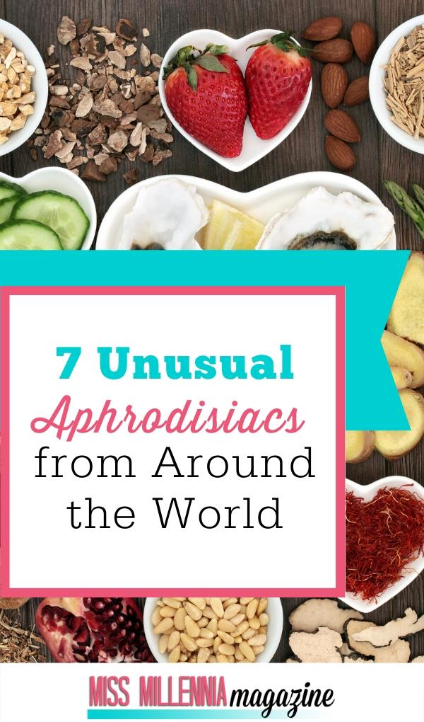 World's Unusual Aphrodisiacs