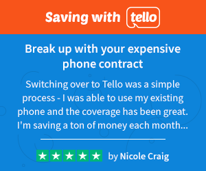 Saving money with Tello - 35+ Tools and Websites that will make you more successful