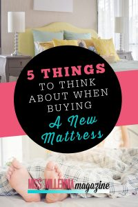 Tips to know for Buying a New Mattress