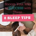 8 Sleep Tips