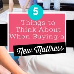Tips for buying new mattress