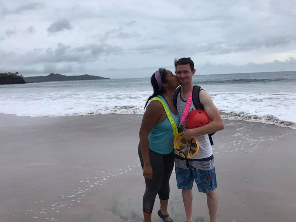 two people in costa rica