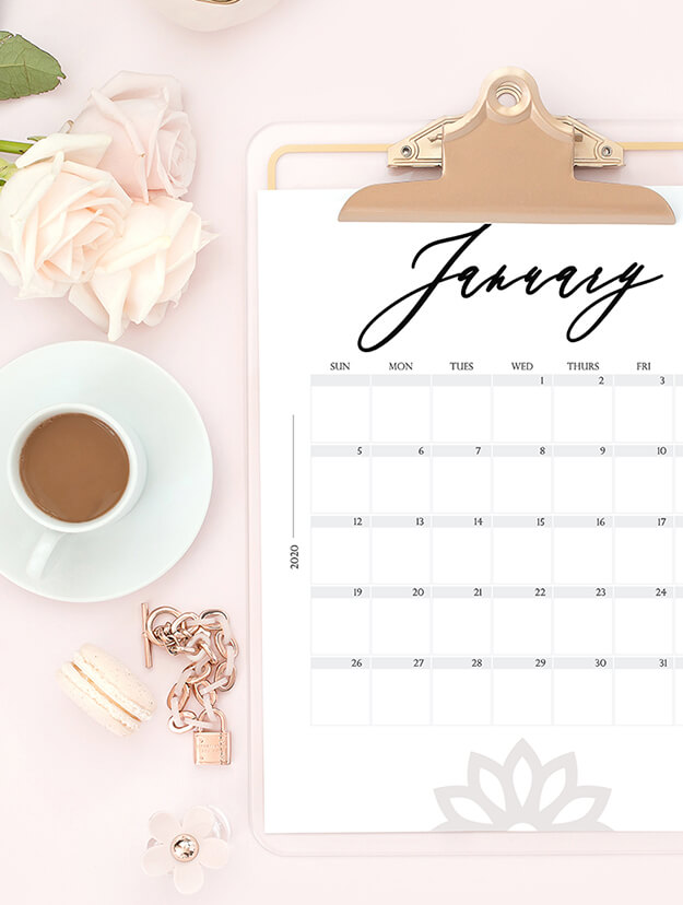 free modern 2020 calendar your marketing bff
