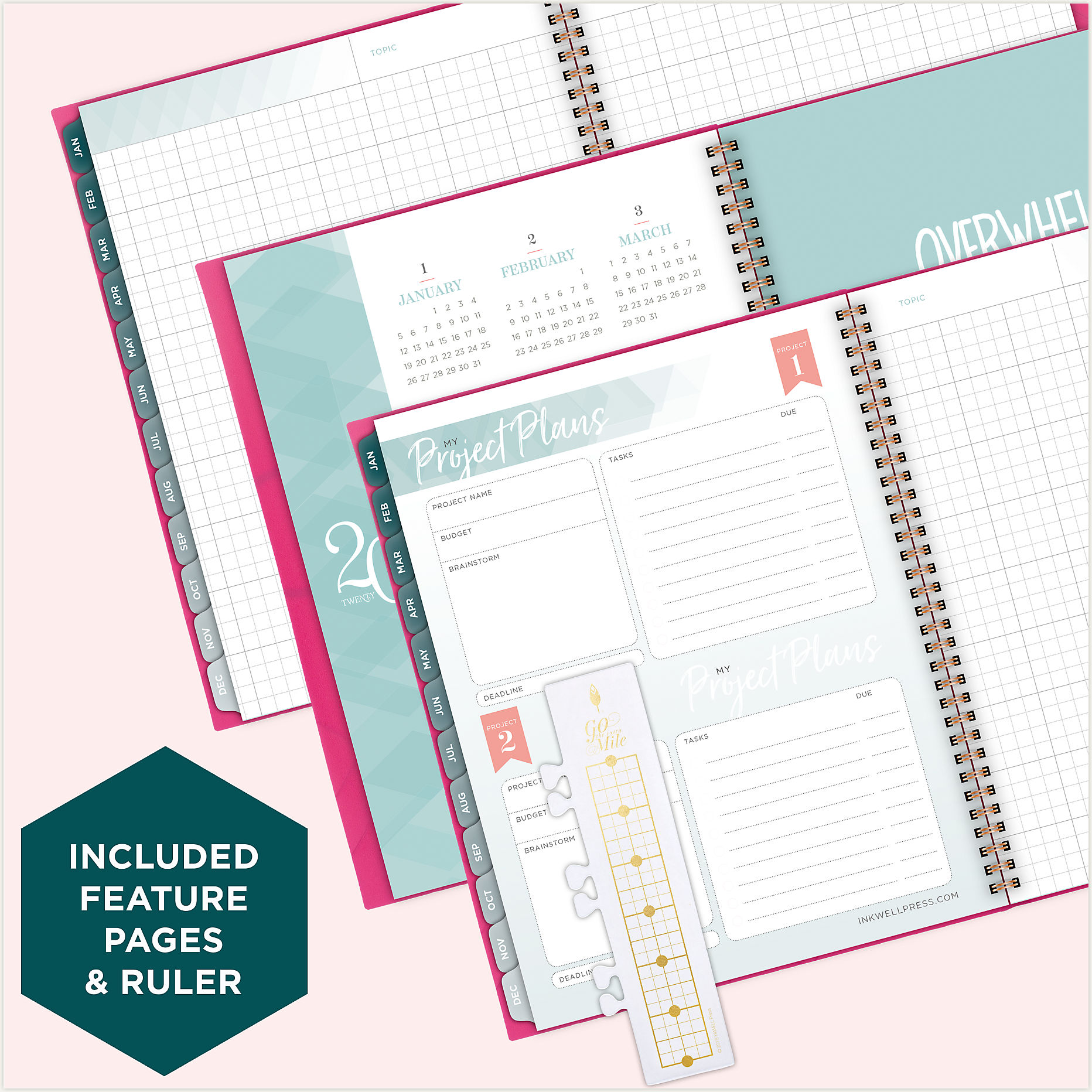 at-a-glance inkWELL new year planner