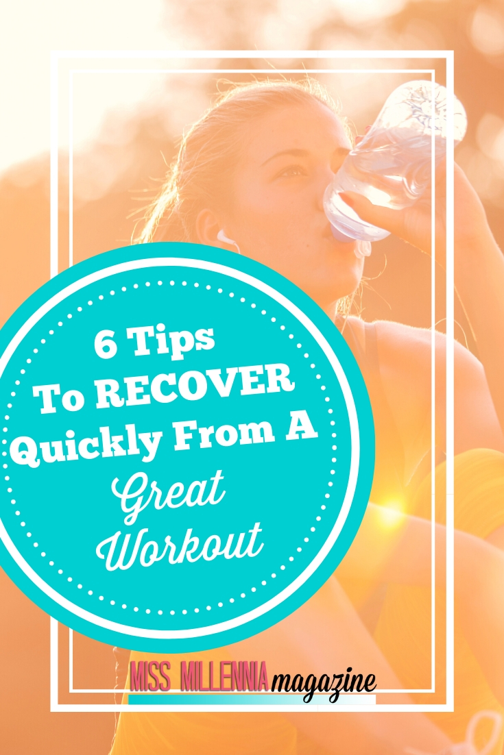 Recovering quickly after working out or playing a sport is just as important as the actual workout itself. To help you feel better after a workout and feel it faster, here is a list of the things you can do to speed up your recovery.