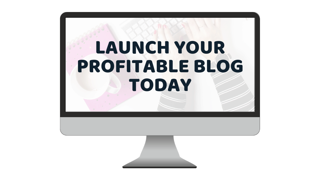launch your profitable blog today let's reach success