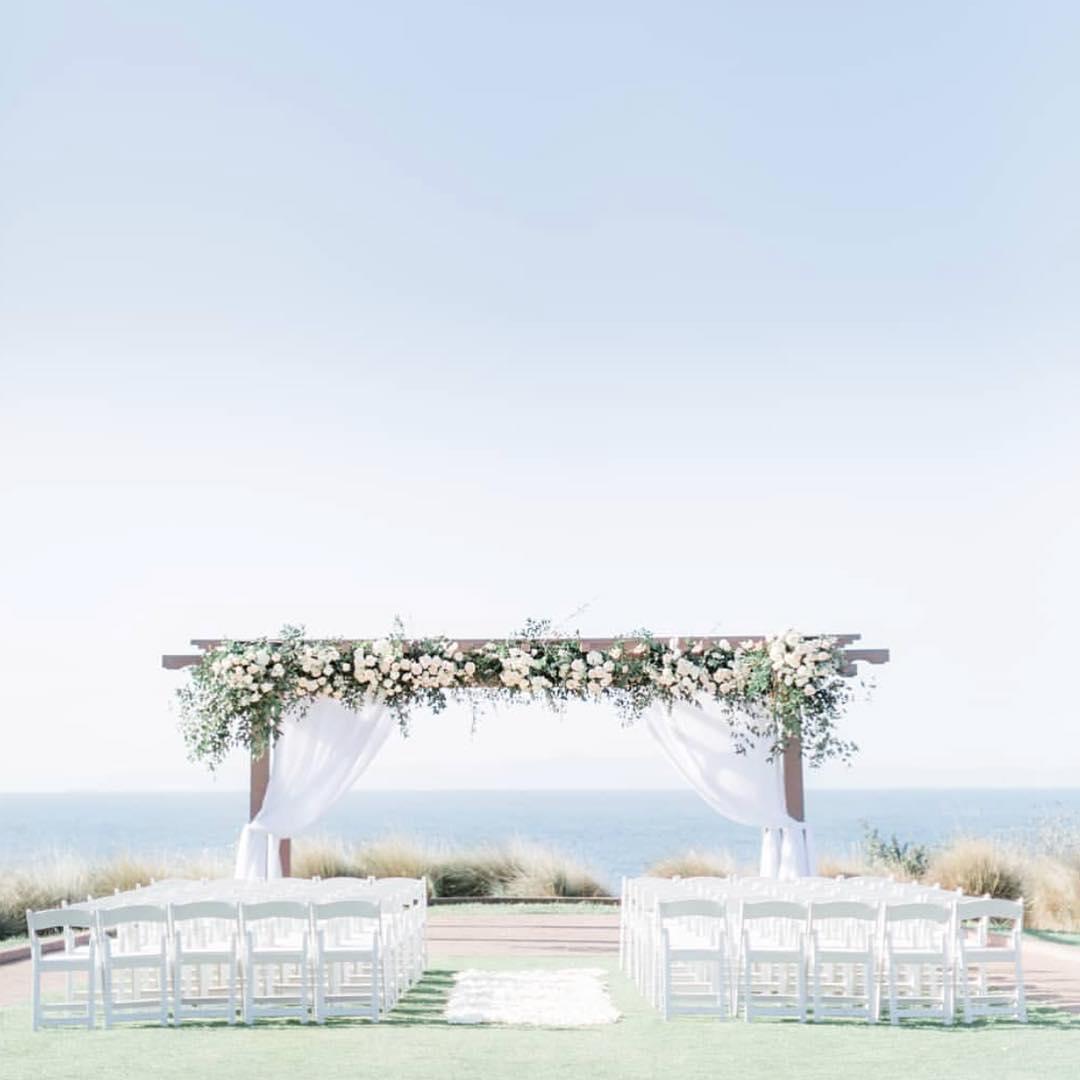 outdoor wedding venue near beach