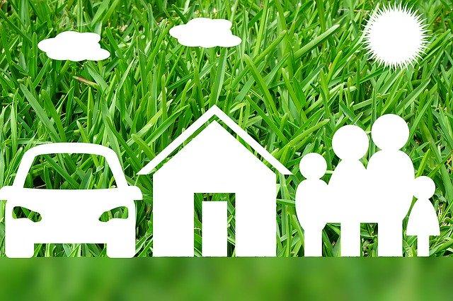 car, family, house insurance