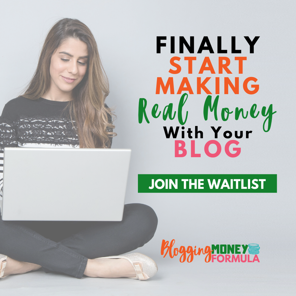 Finally start making real money with your blog with Blogging Money Formula