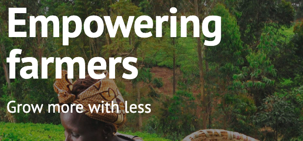 Empowering farmers, grow more with less