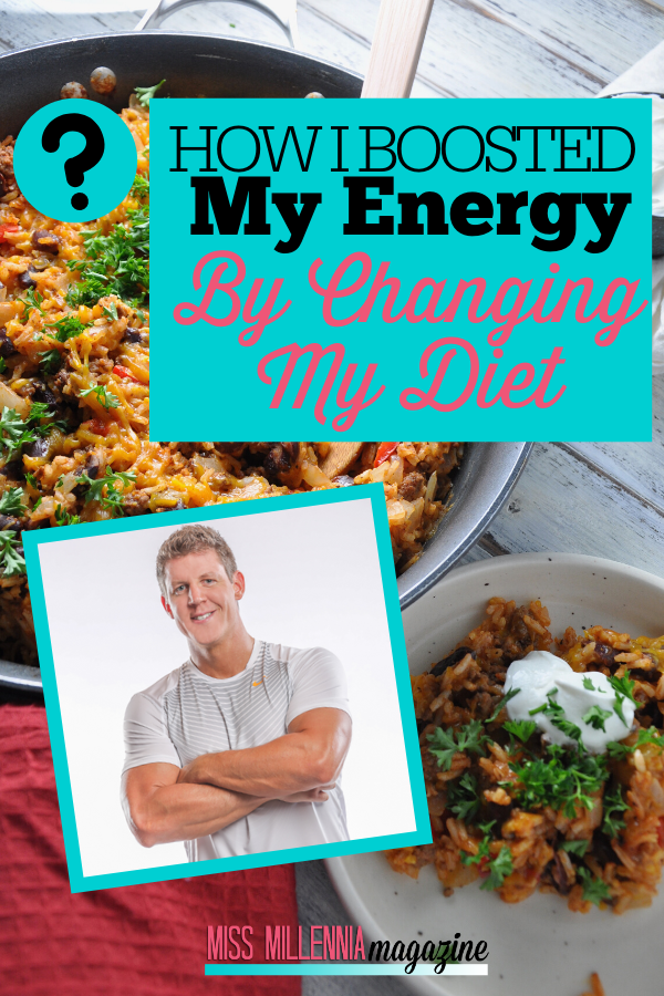 How I Boosted My Energy By Changing My Diet