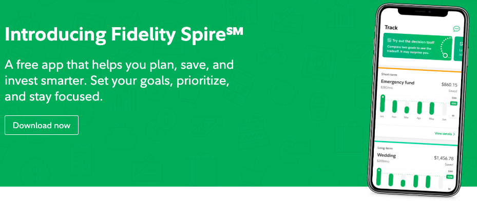 Fidelity Spire finance app