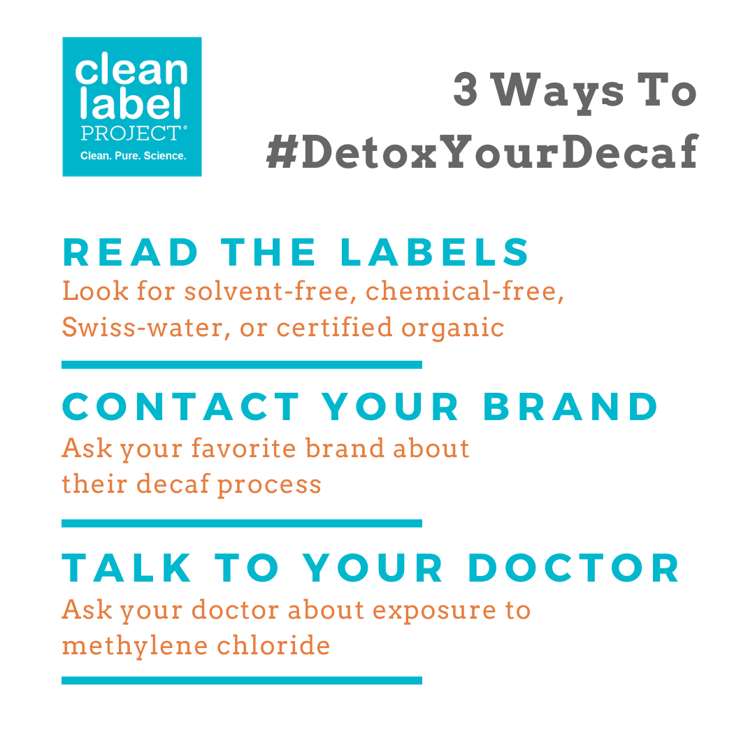 3 Ways to #DetoxYourDecaf