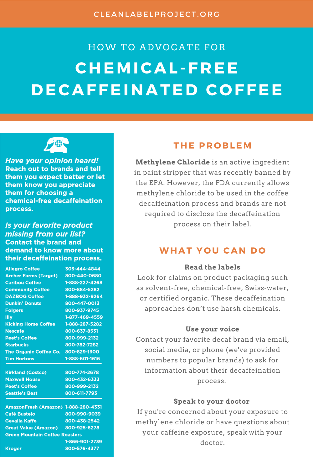 Chemical-Free Decaffeinated Coffee