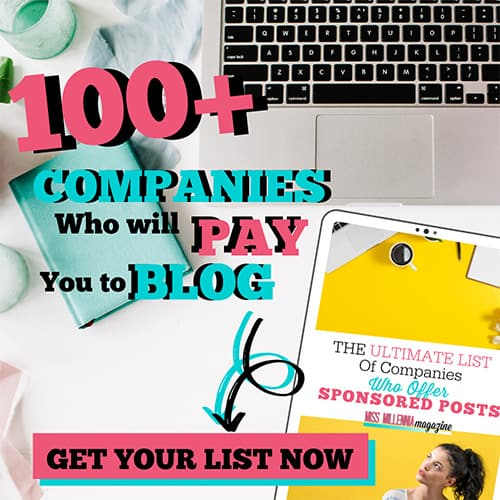 100+ Companies Who Will Pay You To Blog