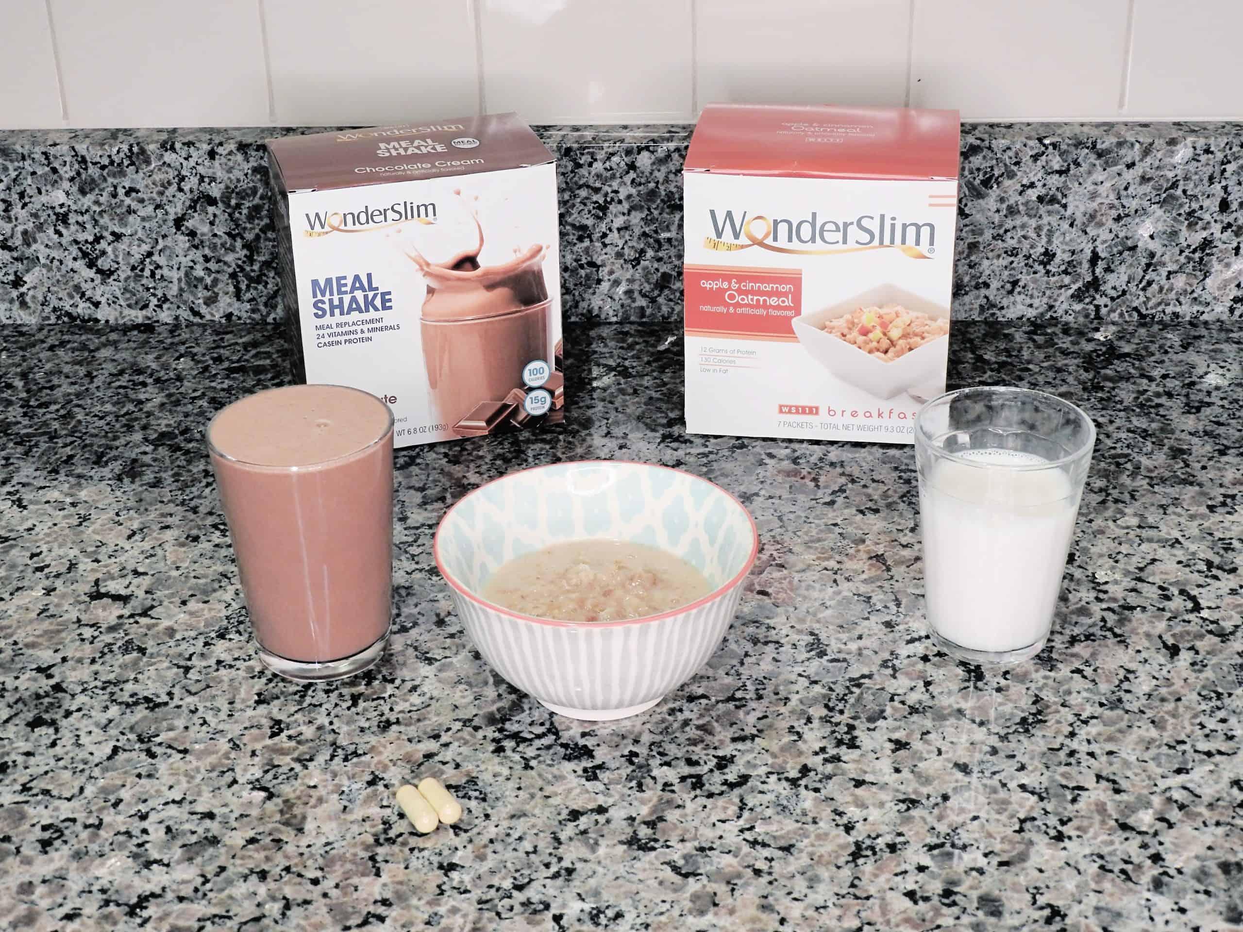 WonderSlim meal shakes