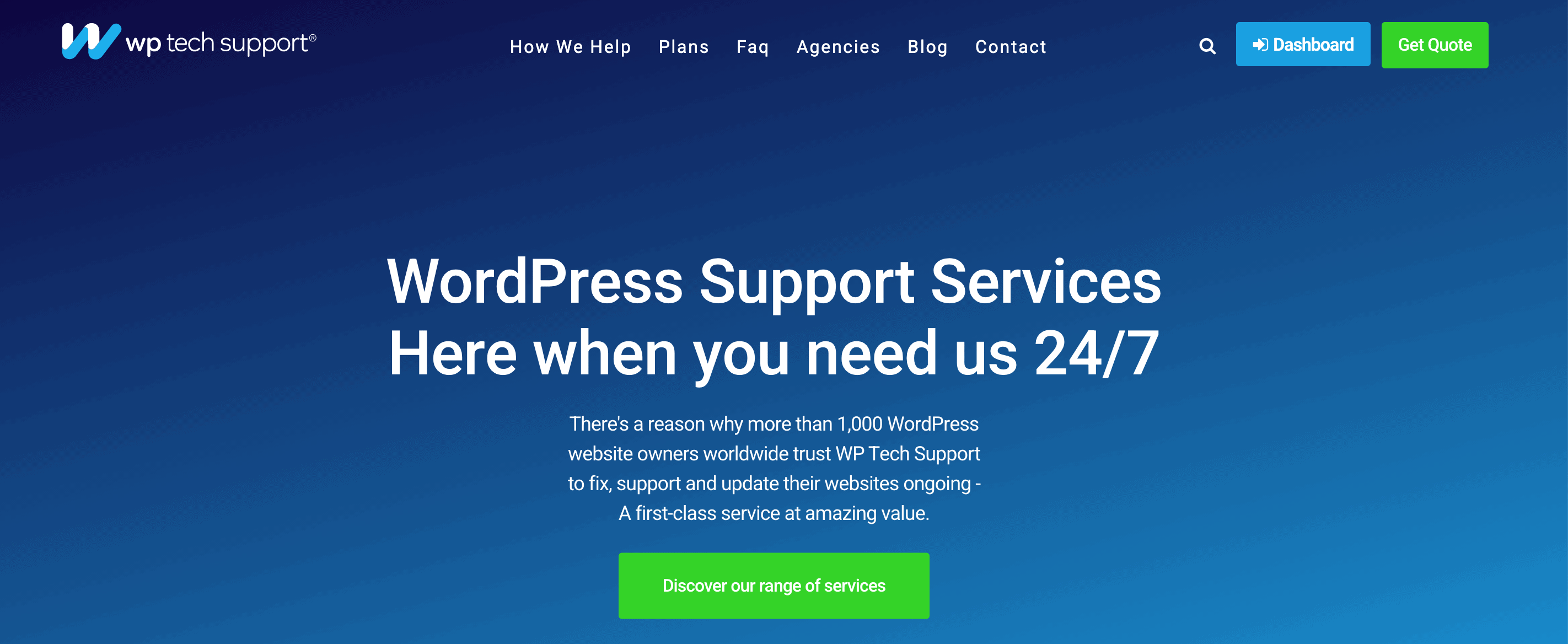 WP Tech Support - WordPress Support Services