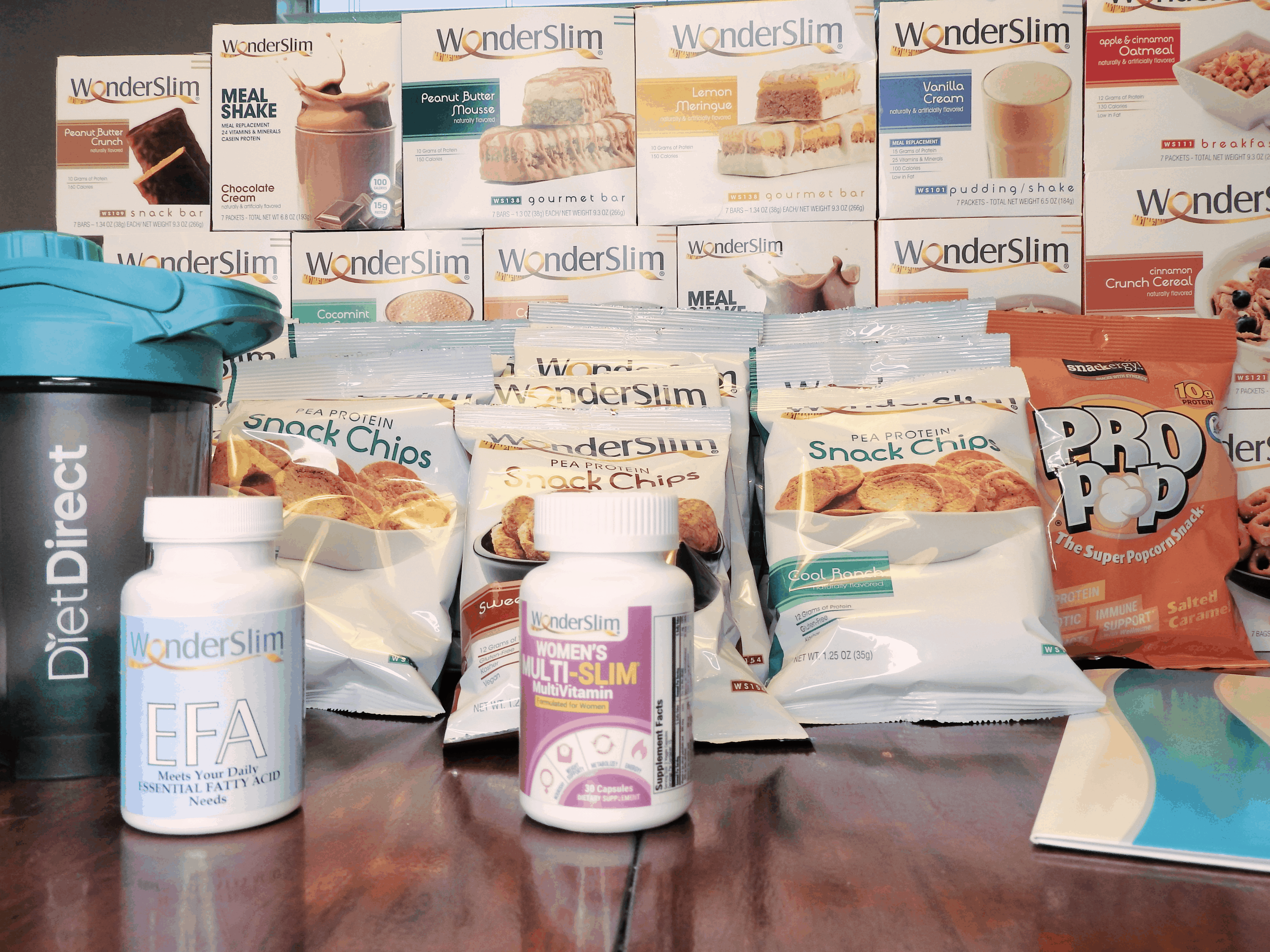 WonderSlim snacks from Diet Direct mothers day gift idea