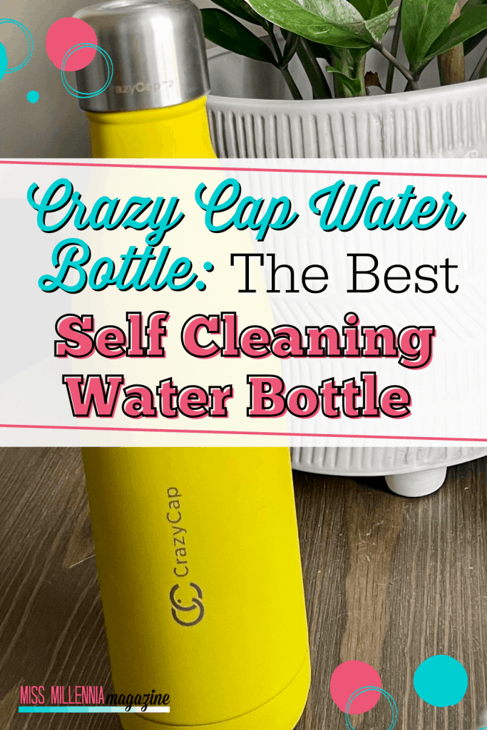 Crazy Cap Water Bottle: The Best Self Cleaning Water Bottle