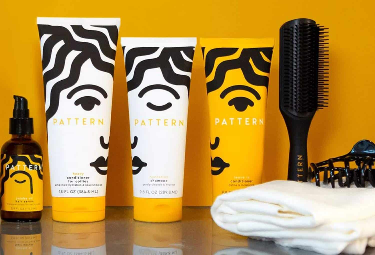 best hair care brands Pattern on display