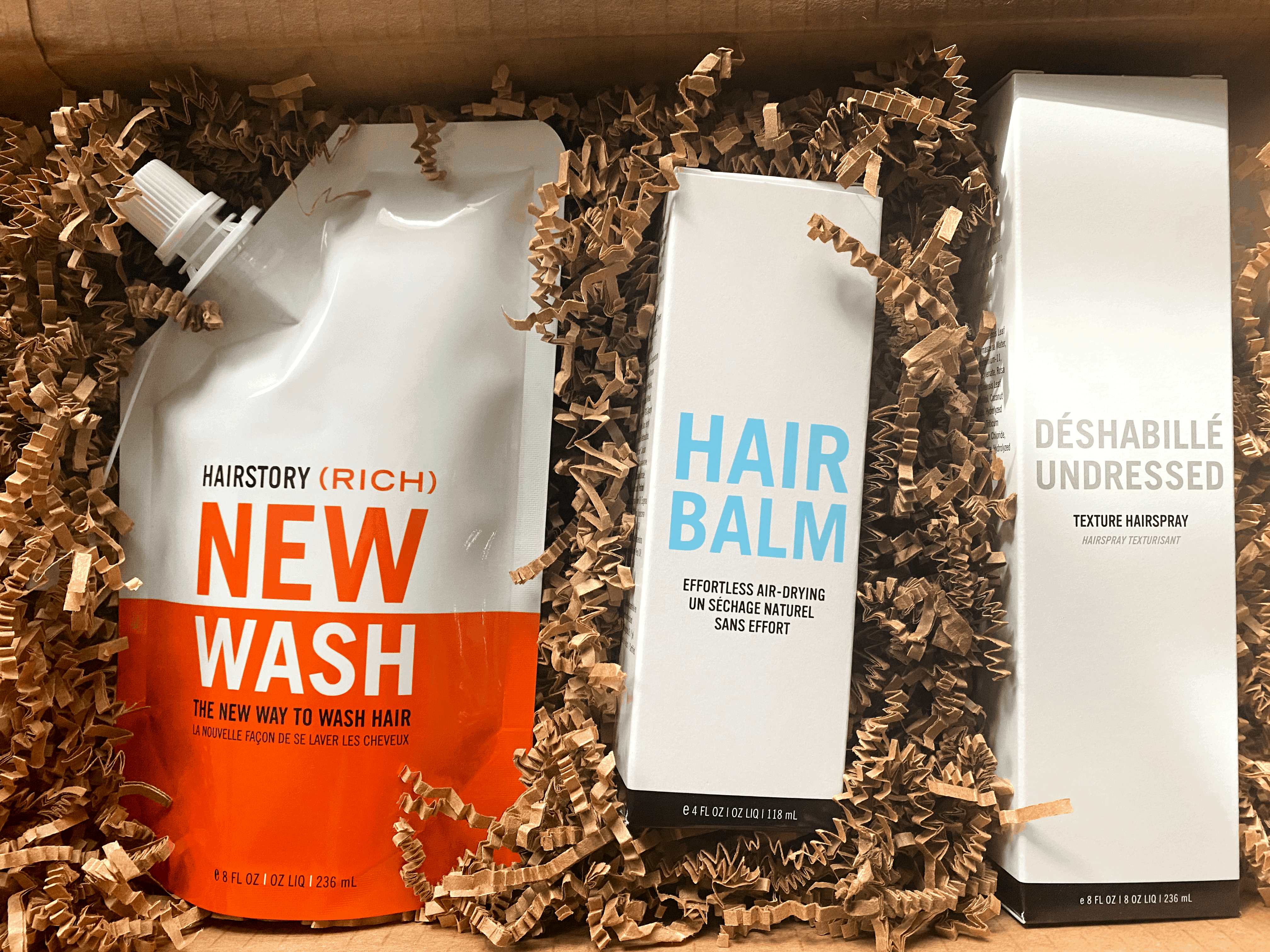 new wash by hairstory unboxing